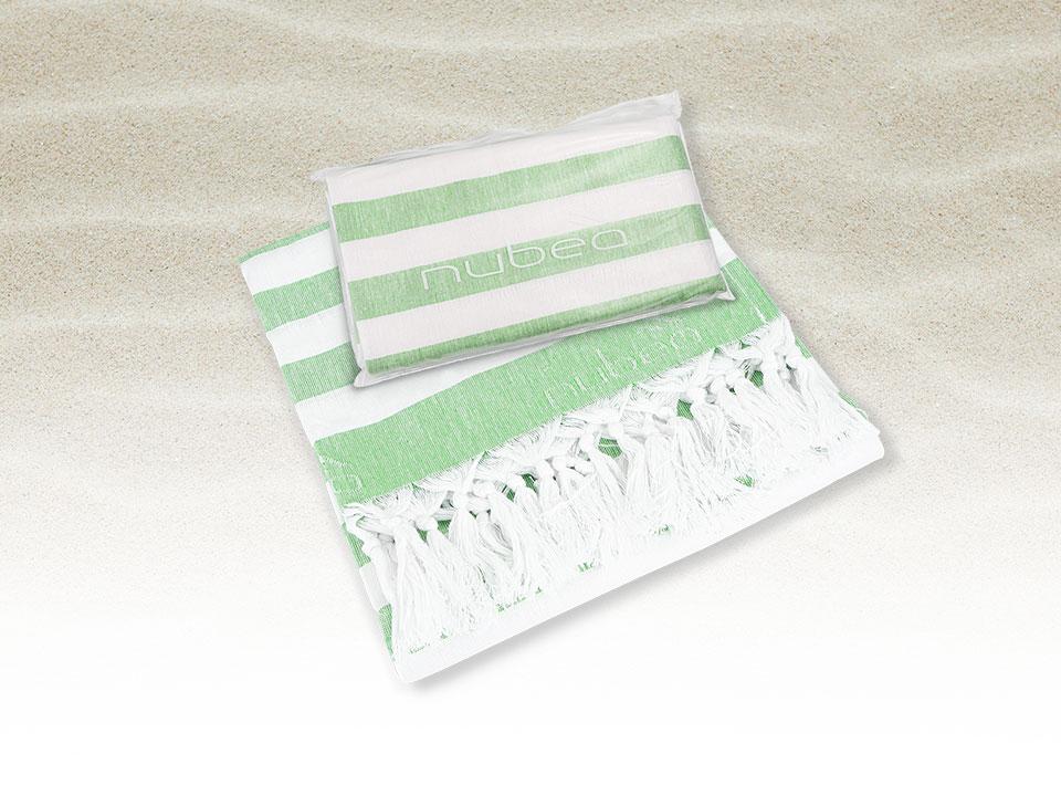 Acquista Solenium in omaggio il green beach towel - telo mare